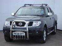 2009 NISSAN NAVARA 2.5 AVENTURA DCI 4X4 SWB SHR D/C 1d AUTO 169 BHP £9999.00