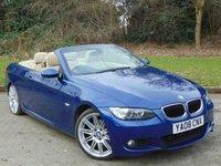 2008 BMW 3 SERIES 2.0 320D M SPORT 2d AUTO 174 BHP £10450.00
