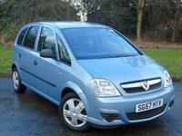 2007 VAUXHALL MERIVA 1.4 LIFE 16V TWINPORT 5d £2256.00
