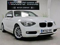 2013 BMW 1 SERIES 1.6 116D EFFICIENTDYNAMICS 5d 114 BHP £7480.00