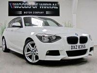 2013 BMW 1 SERIES 2.0 116D M SPORT 5d 114 BHP £10980.00