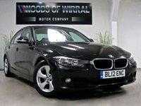 2012 BMW 3 SERIES 2.0 320D EFFICIENTDYNAMICS 4d AUTO 161 BHP £9380.00