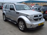 USED 2008 58 DODGE NITRO 2.8 SXT TD 5d AUTO 175 BHP  MOT SERVICE WARRANTY FINANCE