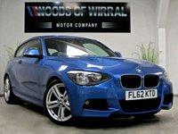 2013 BMW 1 SERIES 2.0 125D M SPORT ESTORIL BLUE 3d 215 BHP £11980.00