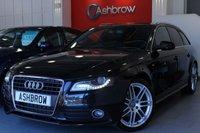 2010 AUDI A4 AVANT 2.0 TDI S LINE 5d 170 S/S £7243.00