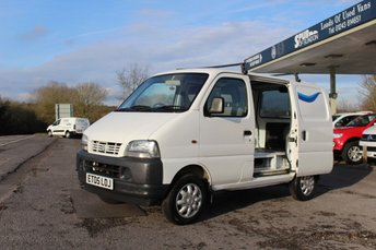 2005 SUZUKI CARRY 1.3 SWB 1d  £2995.00