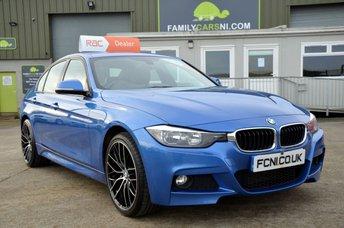 2013 BMW 3 SERIES 2.0 320D M SPORT 4d 181 BHP £16250.00