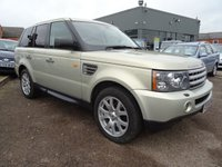 USED 2009 09 LAND ROVER RANGE ROVER SPORT 3.6 TDV8 SPORT HSE 5d AUTO 269 BHP 1 PREVIOUS OWNER ,4 SERVICE STAMPS PLUS LOTS RECEIPTS