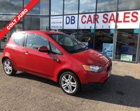 USED 2012 12 MITSUBISHI COLT 1.3 JURO 3d 95 BHP £0 DEPOSIT, LOW RATE FINANCE ANYONE, DRIVE AWAY TODAY!!