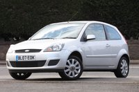 USED 2007 07 FORD FIESTA 1.4 SILVER LIMITED 3d 78 BHP 2 Lady Owners With FSH
