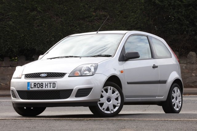 2008 08 FORD FIESTA 1.4 STYLE CLIMATE 16V 3d 78 BHP