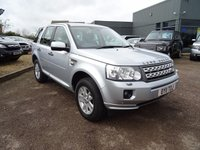 USED 2011 11 LAND ROVER FREELANDER 2.2 SD4 XS 5d AUTO 190 BHP SERVICE HISTORY, GREAT SPEC, SILVER, CONTRASTING SPORTS ALCANTARA AND LEATHER TRIM, ELECTRIC SEATS, TOUCH SCREEN SAT NAV, RADIO STEREO CD PLAYER, HEATED SEATS, ELECTRIC HEATED FOLDING DOOR MIRRORS, AUTOMATIC TIPTRONIC GEARBOX, ALPINE SOUND SYSTEM, 4WD, HILL DESCENT, TRACTION CONTROL, CUP HOLDERS, AUTO DIMMING MIRROR, ISOFIX, FOLDING REAR SEATS, CARBON FIBRE PACK TO DASH AND DOOR INSERTS, FRONT AND REAR PDC, MULTI FUNCTION STEERING WHEEL, CRUISE CONTROL, POWER START, TELEPHONE PREP