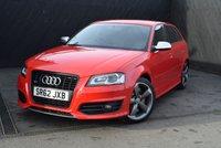 USED 2012 62 AUDI S3 2.0 S3 SPORTBACK TFSI QUATTRO BLACK EDITION 5d AUTO 265 BHP