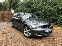 2008 BMW 1 SERIES 2.0 118D SE 3d 141 BHP £6489.00