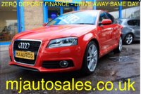 USED 2012 61 AUDI A3 2.0 SPORTBACK TDI S LINE 5dr 140 BHP VERY SMART AUDI A3 S LINE WITH LOW MILEAGE