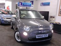 2012 FIAT 500 1.2 COLOUR THERAPY 3d 69 BHP £5499.00