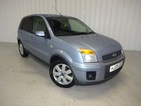2008 FORD FUSION 1.6 FUSION PLUS 5d 100 BHP £3495.00