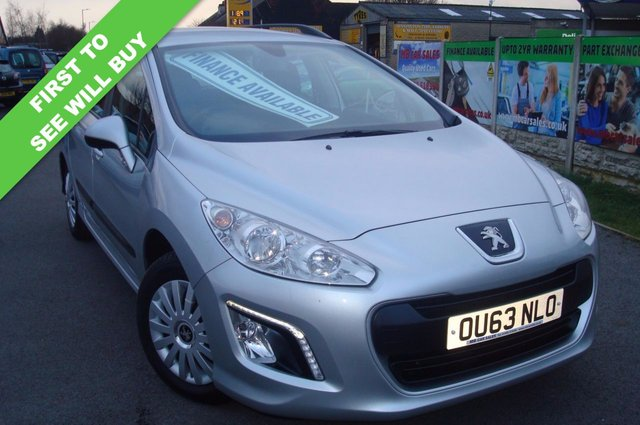 2013 63 PEUGEOT 308 1.6 HDI SW ACCESS 5d 92 BHP ESTATE