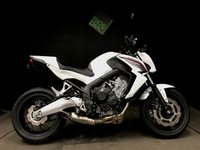 2016 HONDA CB 650 FA-E. ABS. 66 REG. 768 MILES. £1250 OF EXTRAS. £5495.00