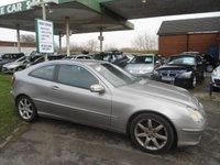 2003 MERCEDES-BENZ C CLASS 1.8 C180 KOMPRESSOR SE 3d AUTO 143 BHP £SOLD