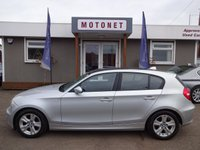 2007 BMW 1 SERIES 1.6 116I SE 5DR HATCHBACK £4770.00