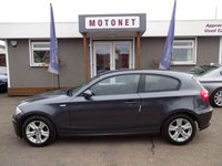 2007 BMW 1 SERIES 2.0 118D SE 3DR HATCHBACK 141 BHP £5444.00