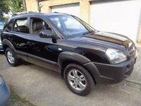 2005 HYUNDAI TUCSON 2.0 CDX CRTD 4WD 5d 111 BHP £1995.00