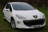 USED 2011 11 PEUGEOT 308 1.6 VTi ENVY [120 BHP] SPECIAL EDITION 5 DOOR HATCHBACK