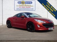 USED 2010 60 PEUGEOT RCZ 1.6 THP GT 2d 156 BHP Full Black Leather HPI Clear  0% Deposit Finance Available