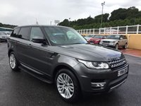 USED 2014 14 LAND ROVER RANGE ROVER SPORT 3.0 SDV6 HSE 5d AUTO 288 BHP Sat Nav, reversing camera, Media Connectivity, Bluetooth, DAB Digital Radio ++Two owners just serviced