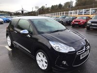 USED 2014 14 CITROEN DS3 1.6 THP DSPORT PLUS 3d 150 BHP One owner high specification DS3 D SPORT Model
