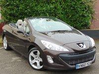 2010 PEUGEOT 308 2.0 CC GT HDI 2d convertible £5796.00