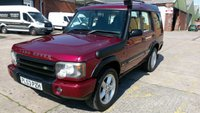 USED 2004 53 LAND ROVER DISCOVERY 2.5 TD5 GS 5STR 5d 136 BHP NO VAT TO ADD