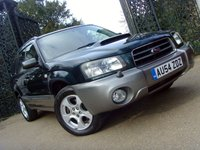 2004 SUBARU FORESTER 2.0 XT TURBO 5d 177 BHP £2299.00