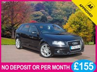 USED 2013 62 AUDI A3 2.0 SPORTBACK TDI S LINE 5dr PRICE CHECKED DAILY – WHY PAY MORE ??