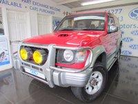 2004 MITSUBISHI PAJERO 2.8 IMPORT 1d  £3695.00