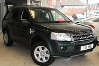 USED 2011 11 LAND ROVER FREELANDER 2.2 TD4 GS 5d AUTO 150 BHP SERVICE HISTORY + RECENT TIMING BELT CHANGE + BLUETOOTH + CRUISE CONTROL + 17 INCH ALLOYS + REAR PARKING SENSORS + ELECTRIC WINDOWS