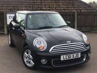 2011 MINI HATCH ONE 1.6 ONE 3d AUTO 98 BHP £7995.00