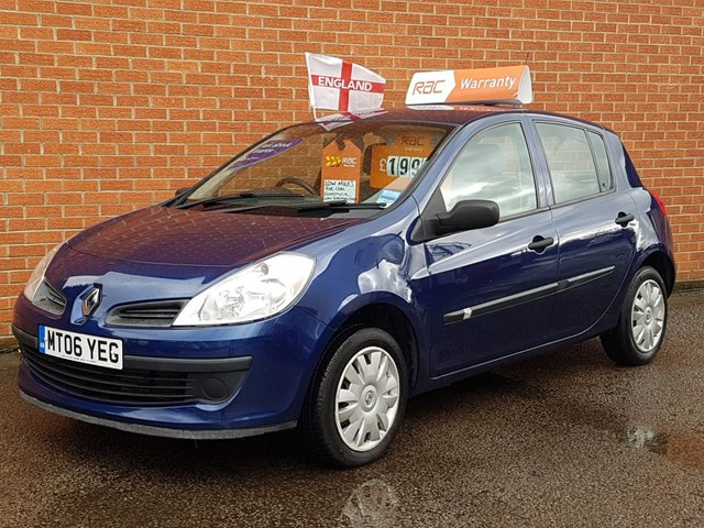 2006 06 RENAULT CLIO 1.1 EXPRESSION 16V 5 DOOR