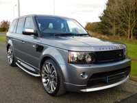 USED 2011 61 LAND ROVER RANGE ROVER SPORT 3.0 SDV6 HSE LUXURY 5d AUTO 255 BHP AUTOBIOGRAPHY BODY KIT, LUXURY PACK