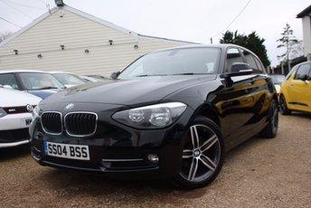 2014 BMW 1 SERIES 1.6 116I SPORT 5d 135 BHP £11750.00