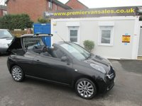 2006 NISSAN MICRA 1.6 ESSENZA  OPEN TOP KARMA  EDITION   BLACK METALLIC  LEATHER TRIM   LOW MILES  52,000 MLS,   TAKEN IN PX  FULL PRINT OUT SERVICE ALL RECEIPTS  SPARE KEY LESS START   ELECTRIC  BOOT FOLDING TOP   !! PX BARGAIN !! £2500.00