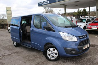 2015 FORD TOURNEO CUSTOM 2.2 300 LIMITED TDCI 5d 125 BHP £14995.00