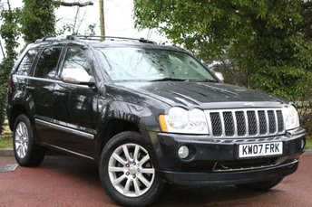 2007 JEEP GRAND CHEROKEE 3.0 V6 CRD OVERLAND 5d AUTO 215 BHP £5995.00