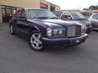 2001 BENTLEY ARNAGE SALOON LEMANS SERIES RED LABEL £27995.00