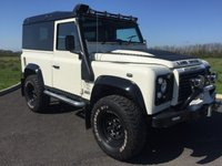 USED 2002 02 LAND ROVER DEFENDER 2.5 90 TD5 COUNTY STATION WAGON 3d Brand New Build ESTATE