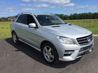 2012 MERCEDES-BENZ M CLASS DIESEL STATION WAGON ML350 CDI BLUETEC SPORT 5DR AUTO