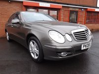 2008 MERCEDES-BENZ E CLASS E220 CDI AVANTGARDE 2.1 4d AUTO 168 BHP £5249.00