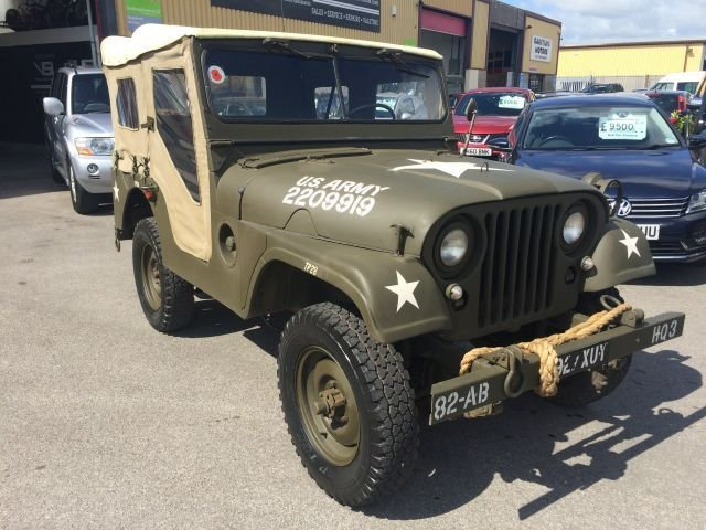 2017 JEEP WILLYS M38A1 M38A1 MILITARY
