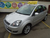 2007 FORD FIESTA 1.2 SILVER LIMITED 3d 75 BHP £2999.00